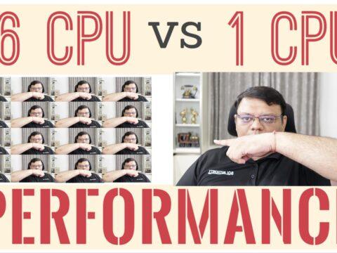 SQL SERVER – 16 CPU vs 1 CPU : Performance Comparison