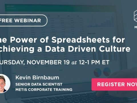 The Power of Spreadsheets for Achieving a Data Driven Culture