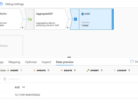 Transform data using a Mapping Data Flow in Azure Data Factory