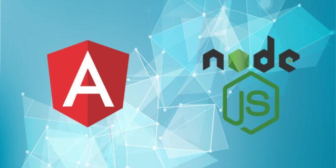 SQL database using Nodejs and serve angular