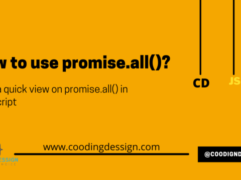 How to use promise.all()